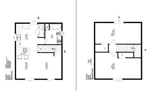 Cabins Floor Plan 1st Flr Layout 2nd Flr Should Be 3 Bed W 3 4 Loft Looking Down Into Lr Loft Floor Plans Cabin Floor Plans Cabin Plans
