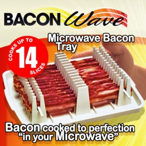 bacon wave microwave bacon bacon
