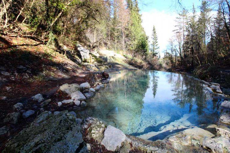 Bagni San Filippo Hot Springs In Val D Orcia Tuscany Hot