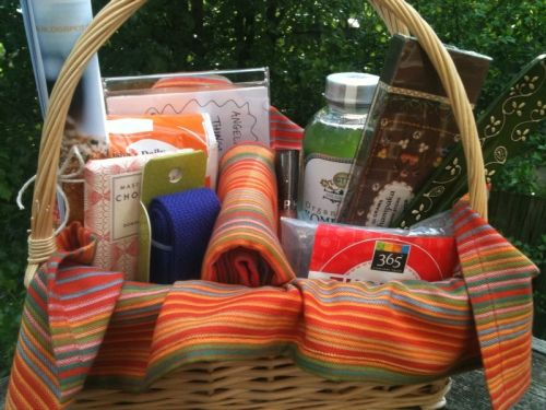 Health And Wellness Themed Basket Read Post For Idea Behind Basket A H W Basket Would Make A Themed Gift Baskets Affordable Christmas Gifts Theme Baskets