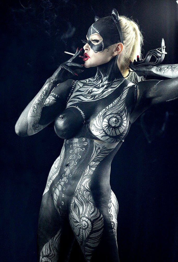 Nude Cosplay Body Paint