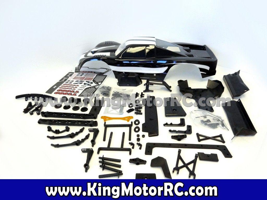 5B to 5T Truck Conversion Kit & Body (black) | RC Truck Body Parts