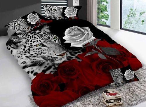 Lvb New Design 3d Bedding Set Flower Printed Bedding Bedspread