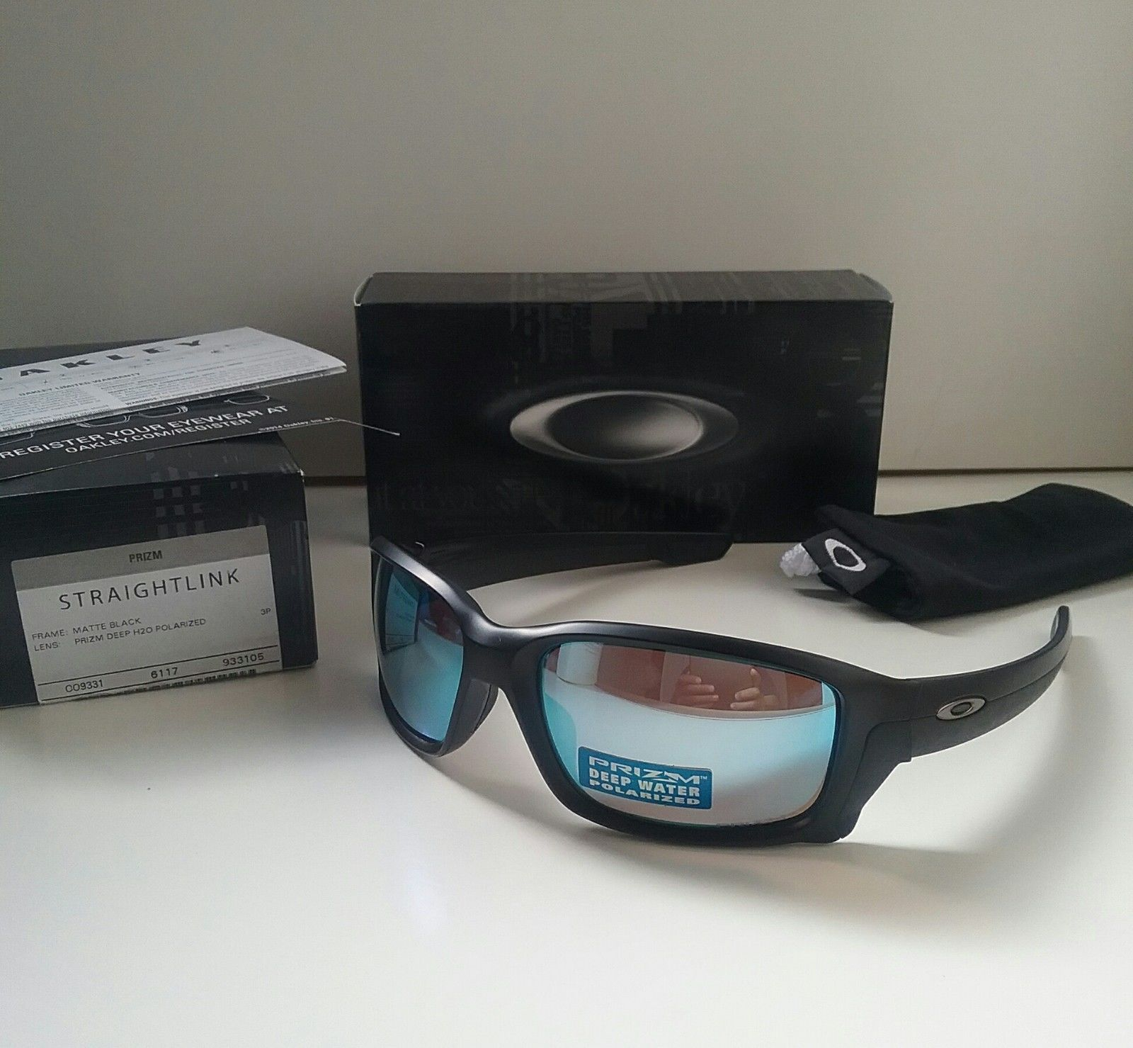 oakley straightlink deep water