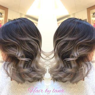 Grey Balayage Short Hair Google Search Short Hair Balayage Gray Balayage Balayage Hair