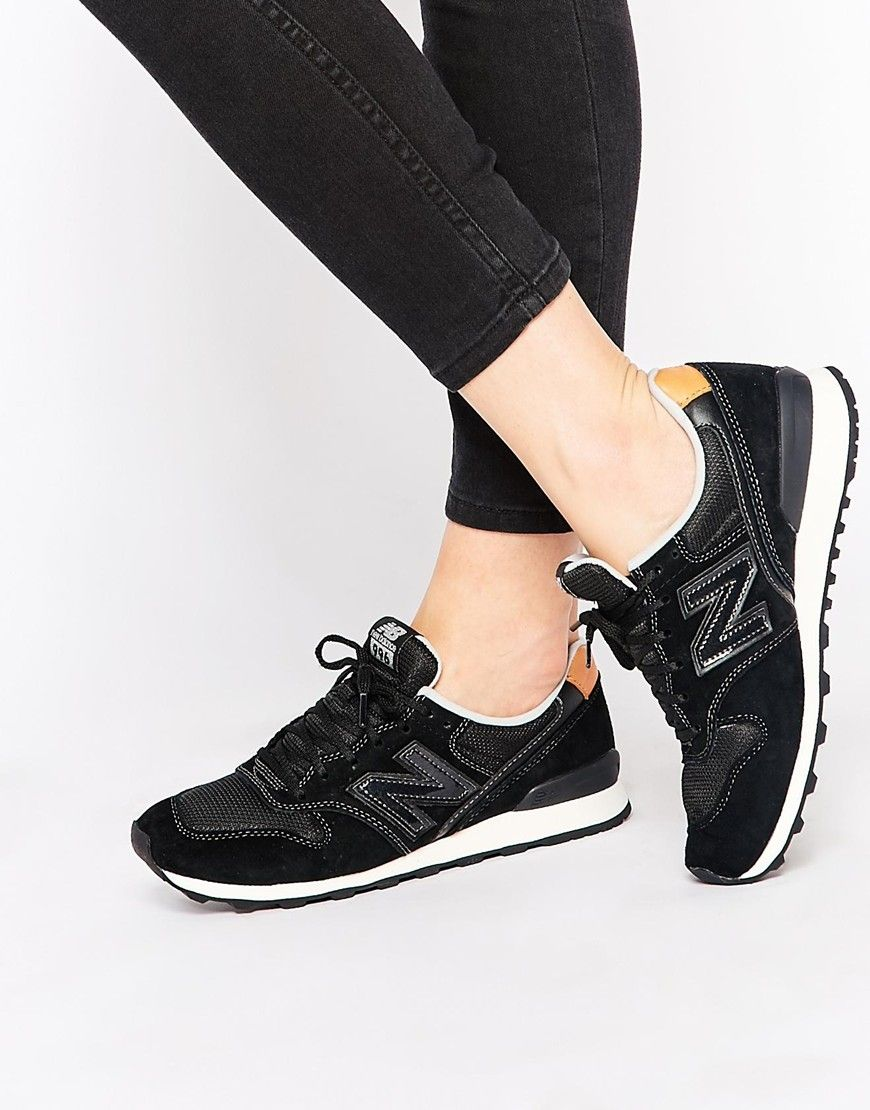 new balance noir et or 996