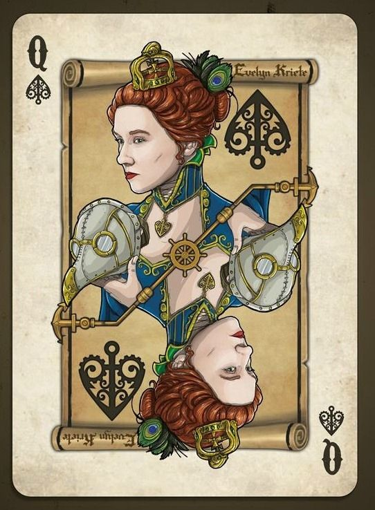 Evelyn Kriete   Community Post: Steampunk Playing Cards