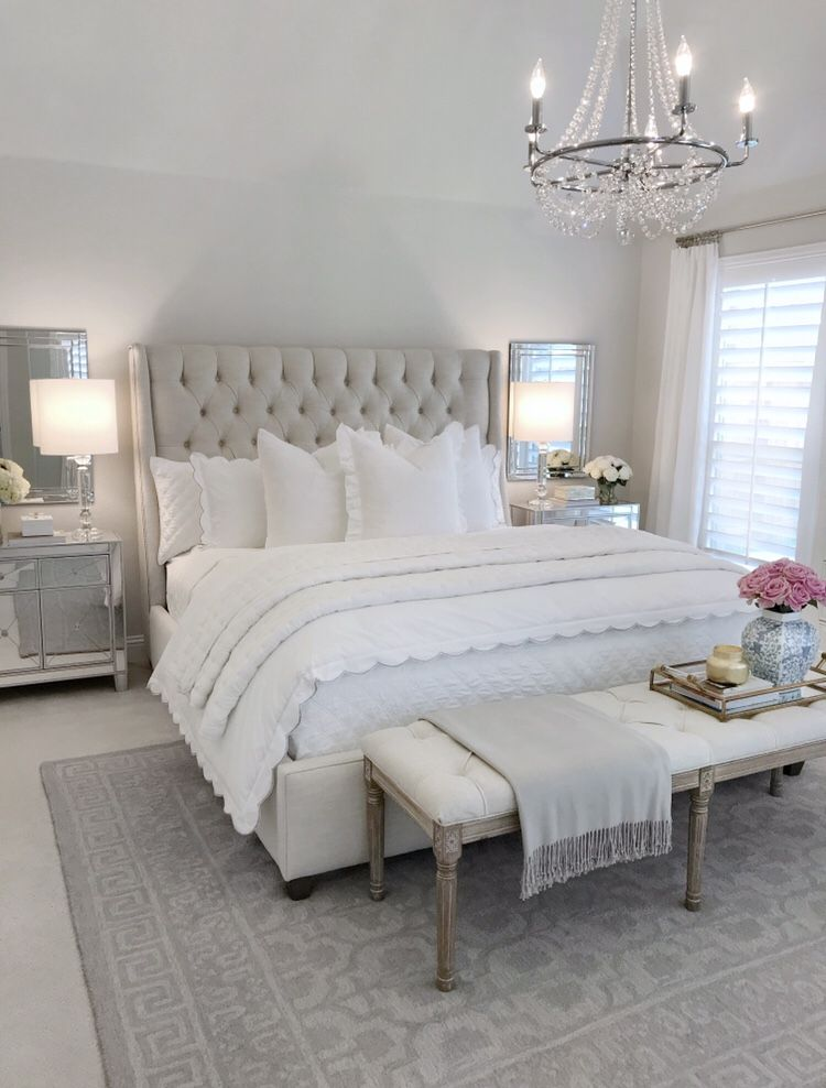 Shop My Ltk Home Takeover Master Bedroom Kitchen Living Room And Guest Room Sources The Dec Modern French Bedroom Home Decor Bedroom Master Bedrooms Decor