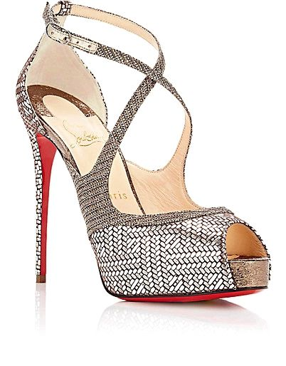 Free Shipping Latest Womens Mira Bella Mesh & Patent Leather Platform Sandals Christian Louboutin Quality Original 2018 Unisex Cheap Online Cheap Prices Reliable Sale New Arrival 5nnCk9QB