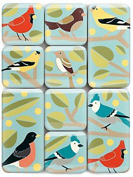 bird magnets || paper source