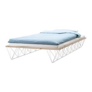 THIS IKEA Twin Tolga Bed Frame Could Become The Z Gallery Knock Off Gold Metal