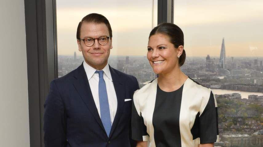 Victoria och Daniel får träffa Elizabeth II
