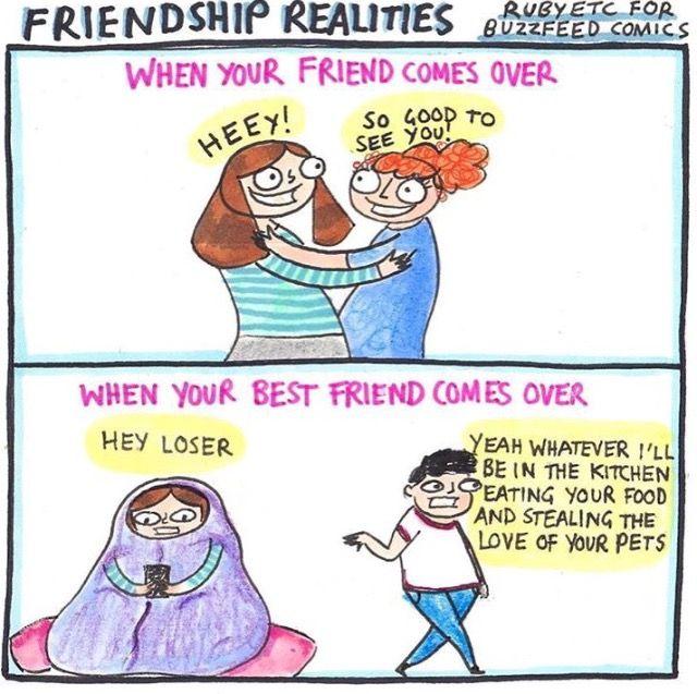 Friendship realities