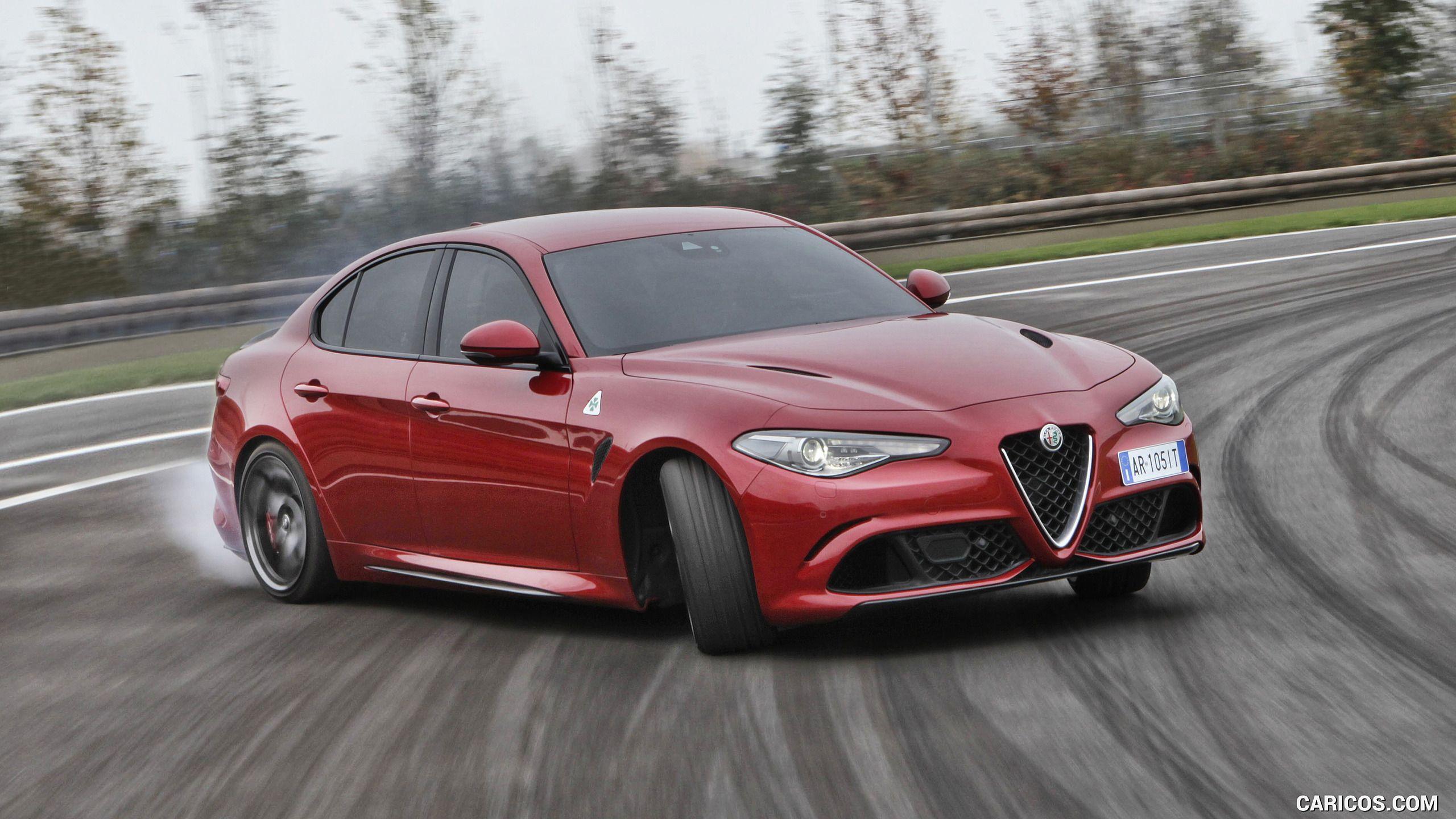 2017 Alfa Romeo Giulia Quadrifoglio Alfa Romeo Giulia Quadrifoglio Alfa Romeo Giulia Alfa Romeo Quadrifoglio