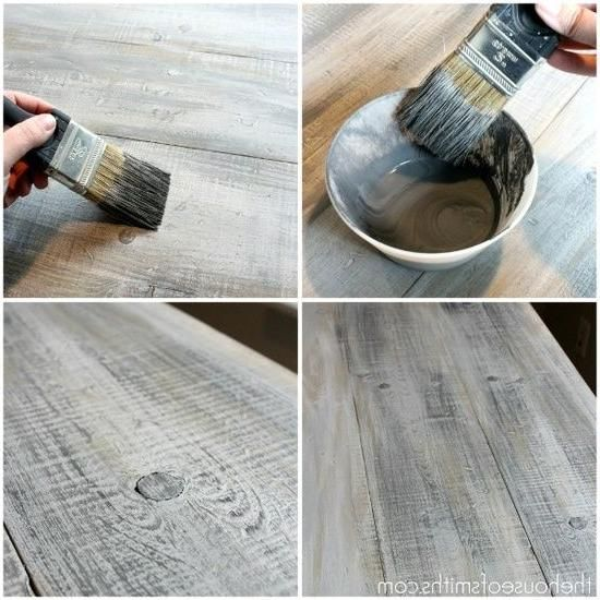 How To Make New Wood Look Like Old Barn Board Indoorlyfe Com Barn Board Aging Wood Old Barn