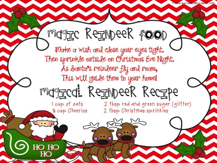 Kinderworld magic reindeer poem and recipe card christmas kinderworld magic reindeer poem and recipe card forumfinder Choice Image
