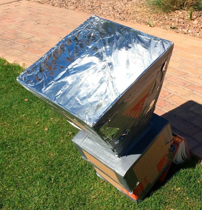 10 Diy Solar Ovens Harvest Sun Energy To Cook Your Food Solar Oven Diy Diy Solar Solar Energy Diy