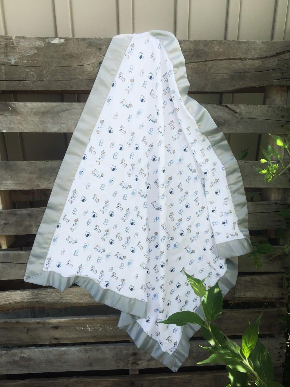 10 Minute Receiving Blanket Diy Baby Gifts Baby