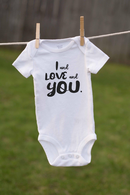 95274ed51 Avett Brothers Inspired Onesie / Infant Bodysuit / I and Love and You /  Avett Fan