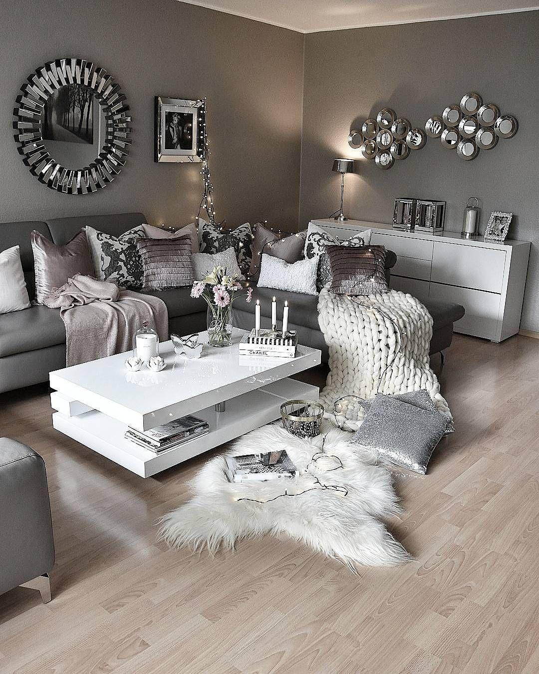Cozy Apartment Living Room Decorating Ideas Kamar Tidur Tidur