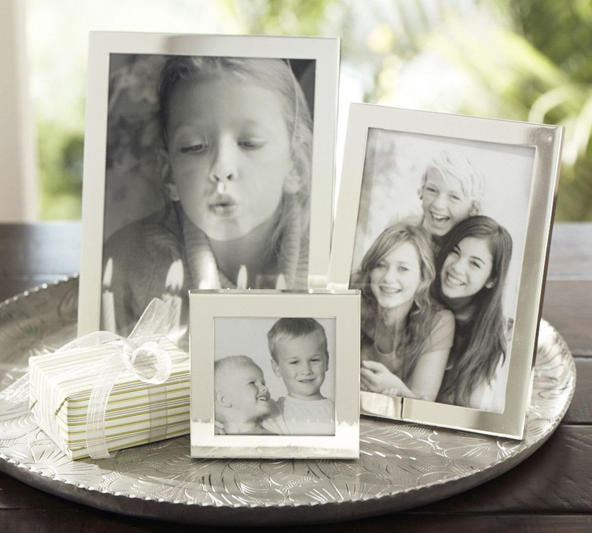 Modern Silver-Plated Frames | Pottery Barn Australia | Mother\'s Day ...