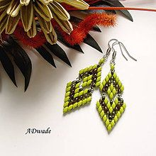 Earrings - Beaded Earrings Marbella - 5730480_