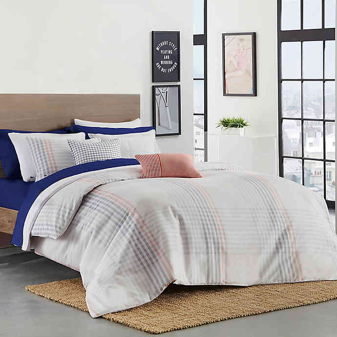 Lacoste Grimaud Comforter Set (With images) Comforter
