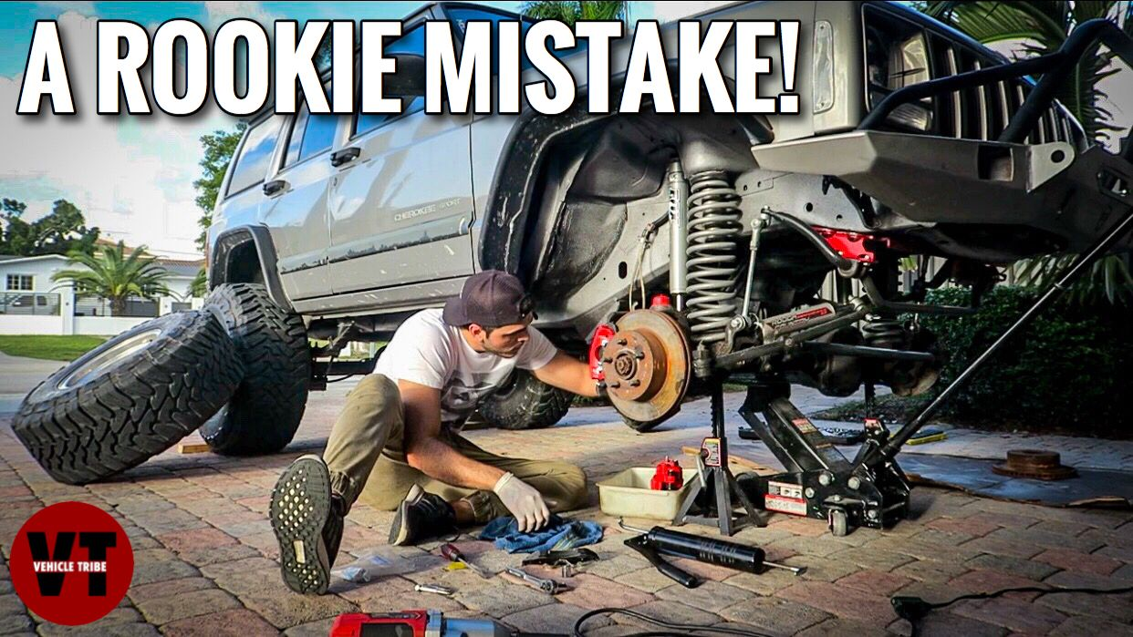 Brake Problems In Jeep Cherokee Xj Vehicle Tribe With Images