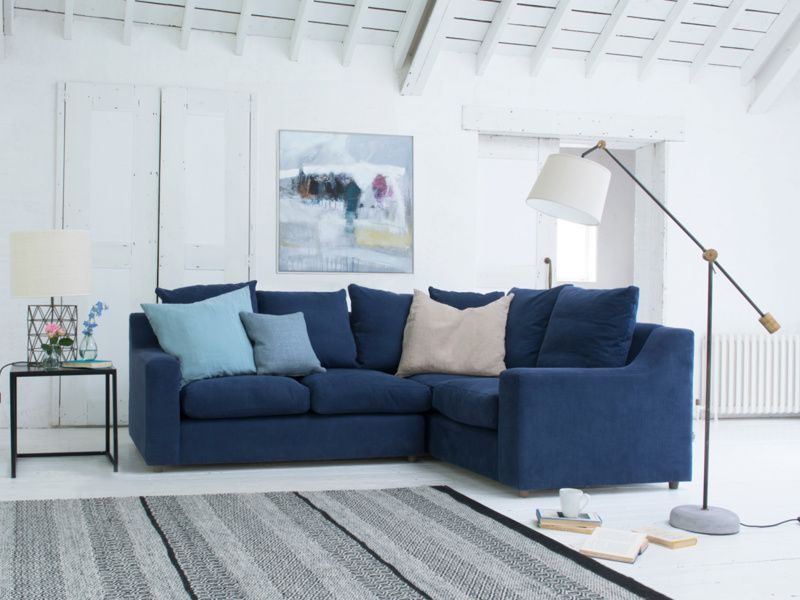 Cloud Corner Sofa Bed Corner Sofa Living Room Blue Corner Sofas Corner Sofa