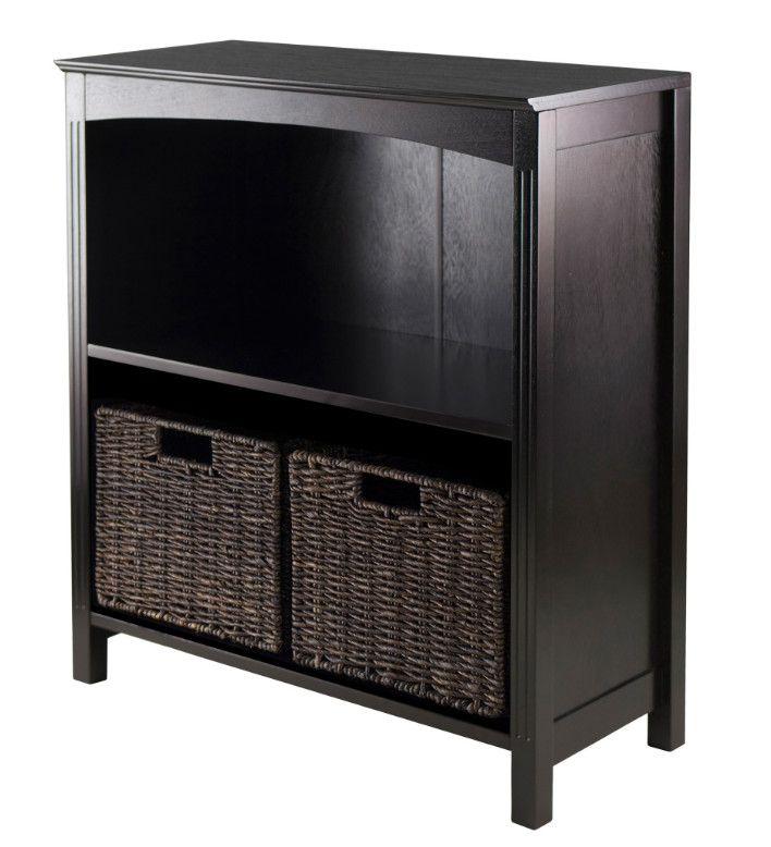 Storage 3-Tier Shelf with 2 Basket