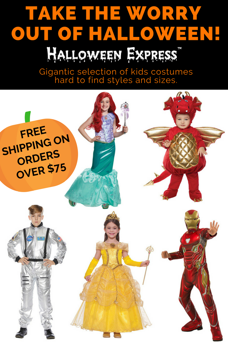 welcome to halloween express! the absolute largest selection of