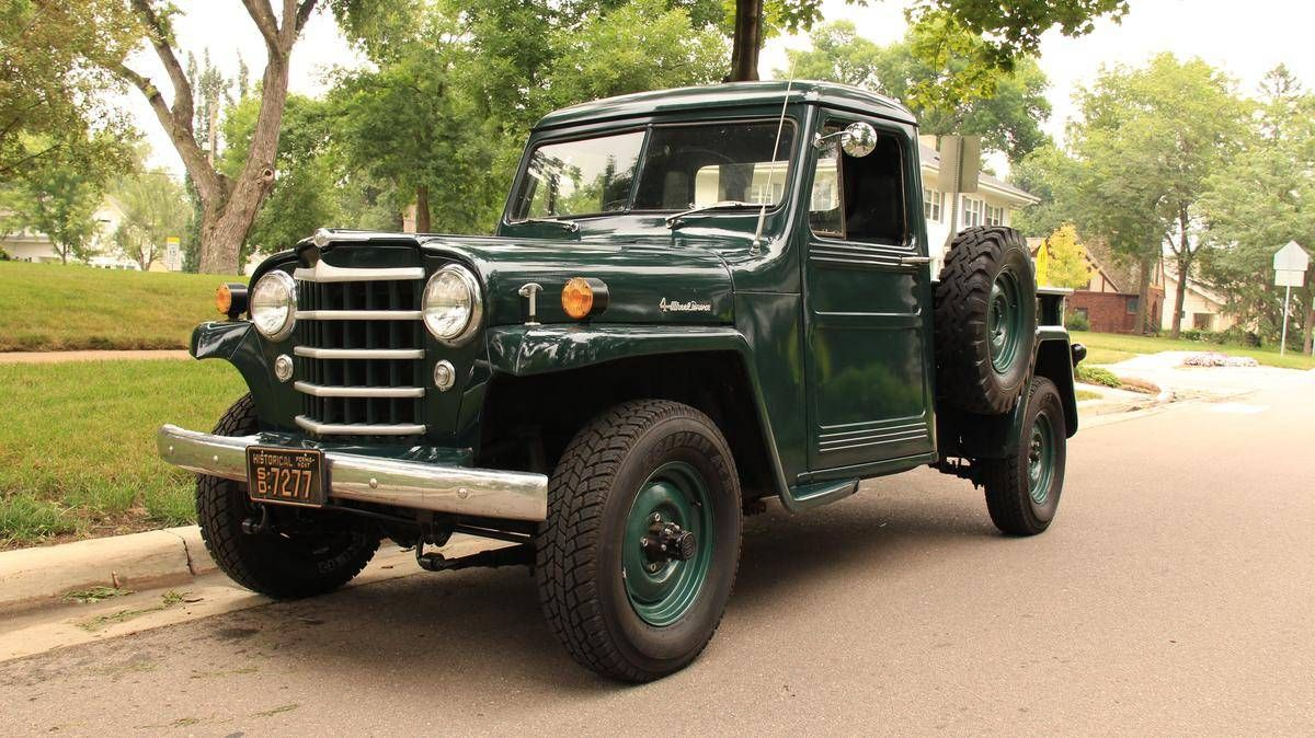 Willys Jeep For Sale >> 1954 Willys Jeep Pickup Jeep Pickup Jeep Willys Wagon