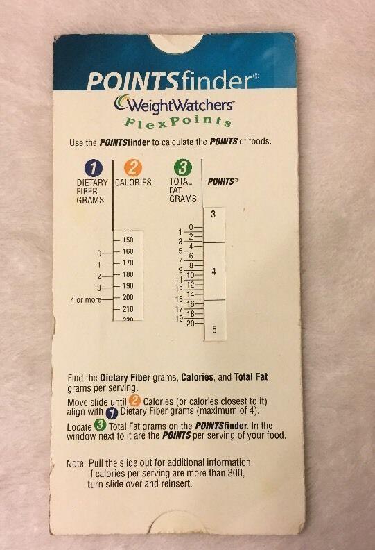 weight watchers slider calculator paper manual flex points finder rh pinterest ie weight watchers pro points calculator user manual weight watchers points calculator manual instructions