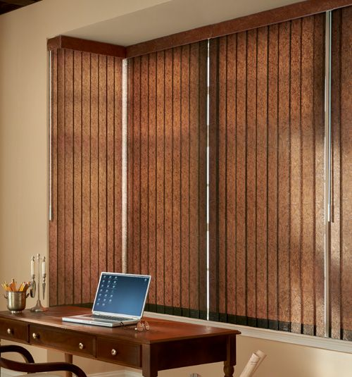 Bali 174 Premium Faux Wood Vertical Blinds Diy Bg Blinds