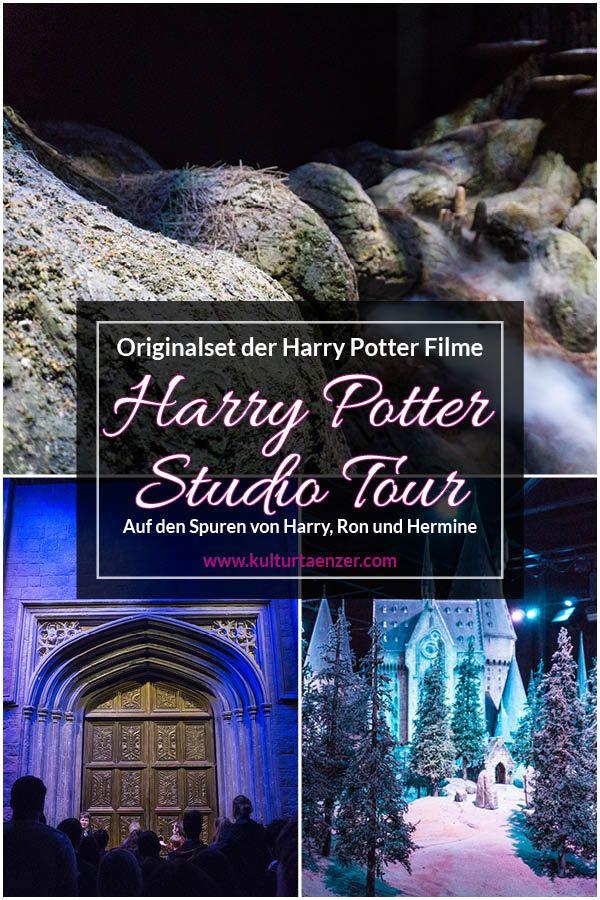 Die Warner Bros Harry Potter Studio Tour Harry Potter Film Reisen Und Ron Und Hermine
