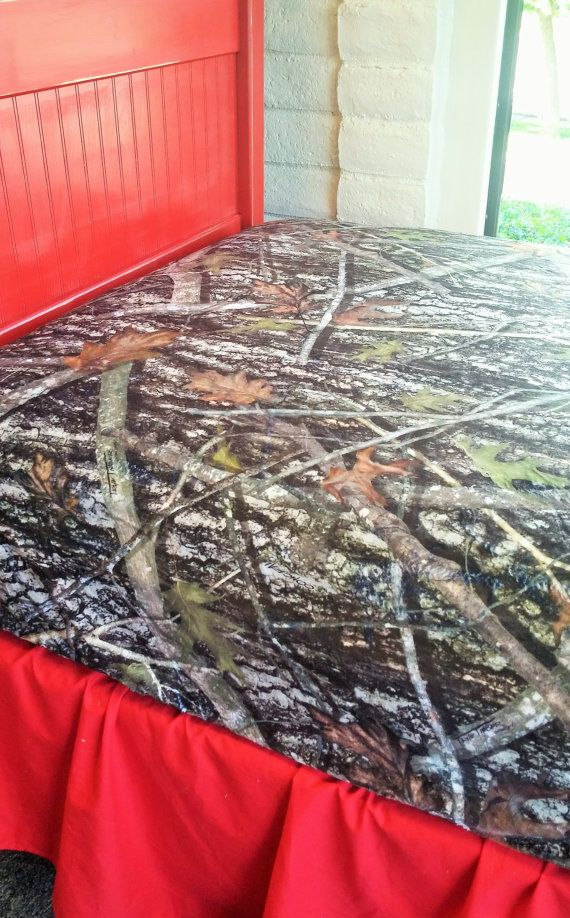 True Timber Camo Sheets Hunter Bedding Twigs Twin Minky Fitted