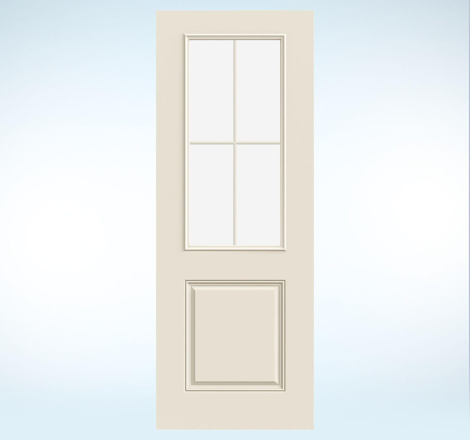 Glass Panel Exterior Door smooth-pro fiberglass glass panel exterior door | jeld-wen doors