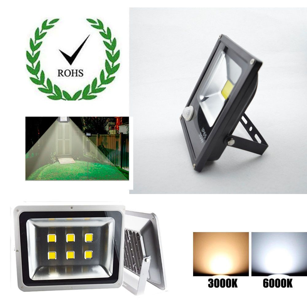 For Garden Spotlight Waterproof Us Plug Led Floodlight 110v Outdoor Landscape Garden Spotlights Outdoor Landscaping Outdoor Solar Lights