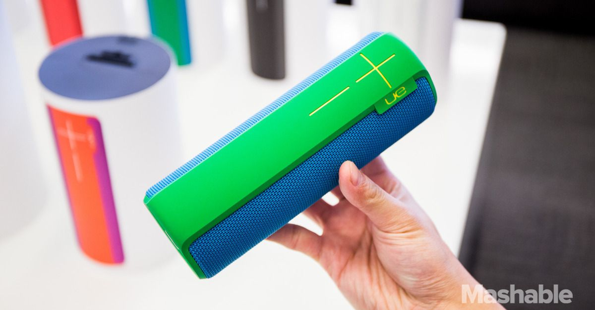 Ultimate Ears Boom 2 Speaker Cranks The Volume Up To Eleven Gadget Gifts Bluetooth Speakers Latest Gadgets