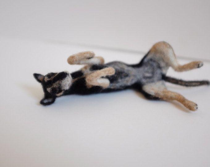 Nadelfilz Hund Portrait. Groß. Benutzerdefinierte Haustier Porträt Ihres Hundes