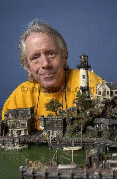 James Pridham's miniature Village...or is it a giant person?...worth a thought...