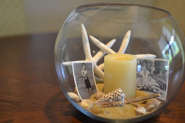 Best fish bowl centerpieces ideas on pinterest beach