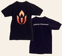 Light a flame for Unitarian Universalism in these chalice t-shirts!