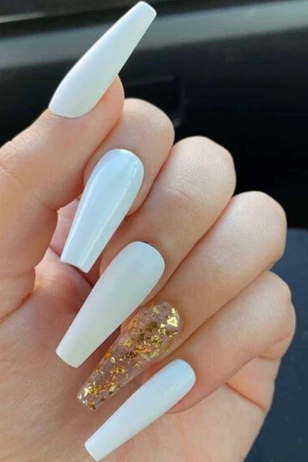 How Long Do Acrylic Nails Last And 14 Tips To Make Them Last Longer In 2020 White Acrylic Nails Long Acrylic Nails Swag Nails