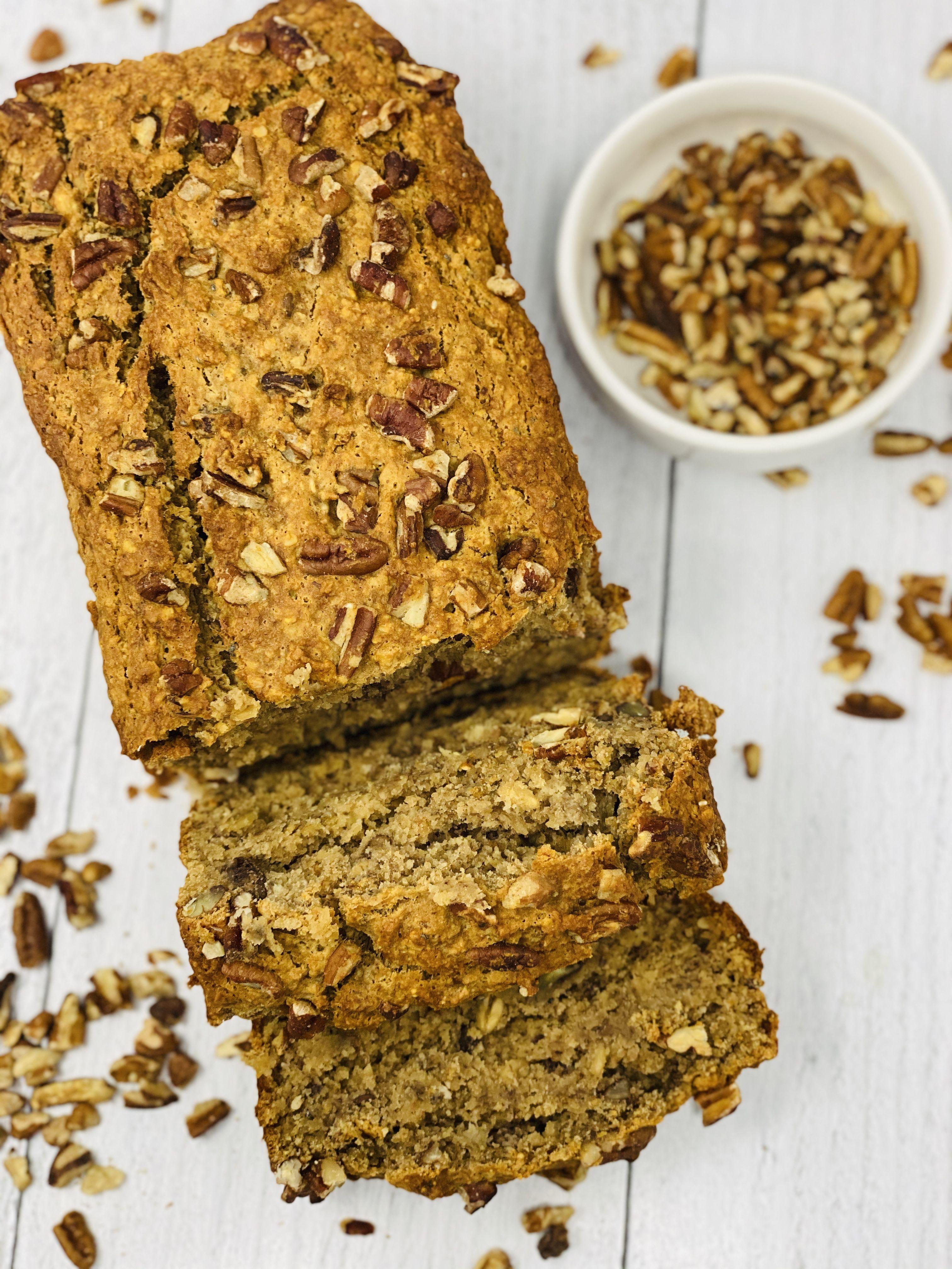 Cinnamon toast crunch banana bread in 2020 cinnamon