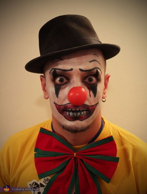 evil clown 2013 halloween costume contest soo doing rhis and make ashlin pee her pants