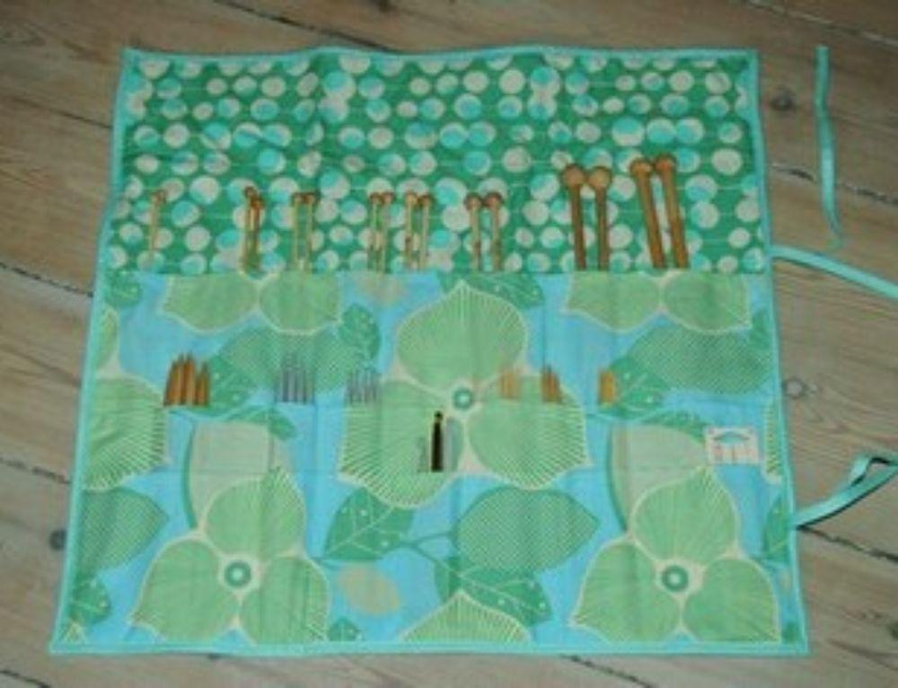Free Pattern: Knitting Needle Case | Tricot | Pinterest | Needle ...