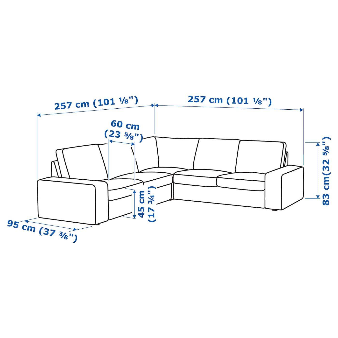 Kivik Sectional 4 Seat Corner Orrsta Red En 2020 Canape Angle Ikea Et Ikea Family