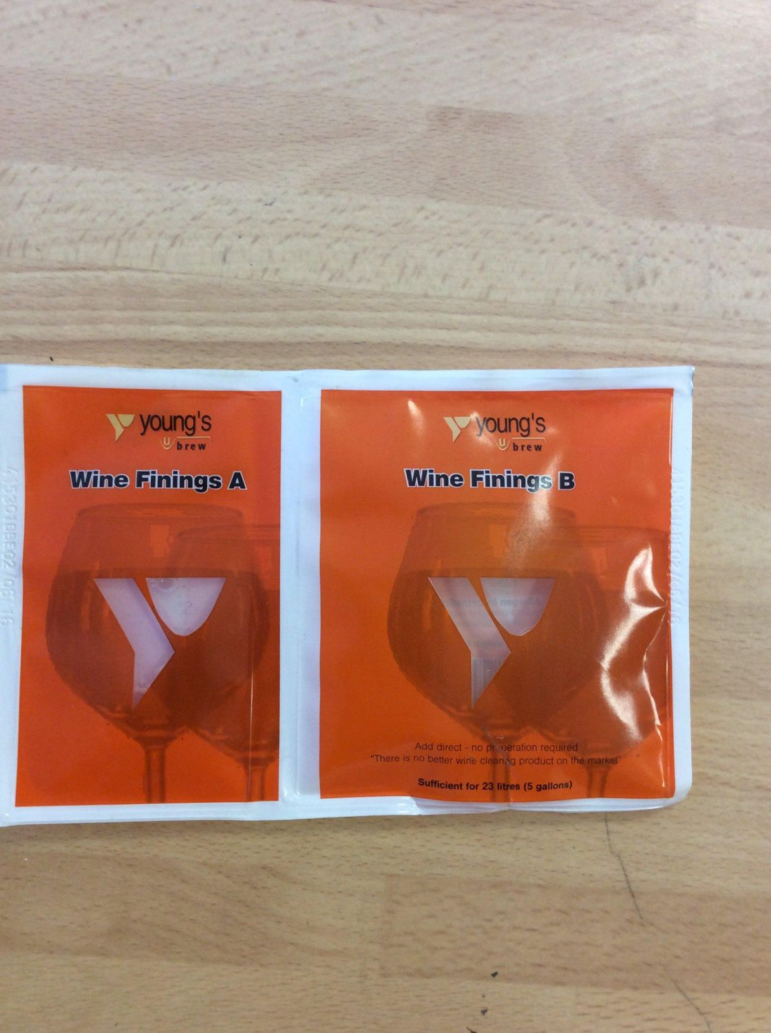 Youngs Wine Finings Pk 10 Treat 23l Per Sachethone Brew Winemaking With Images Winemaking Brewing Wine Yeast