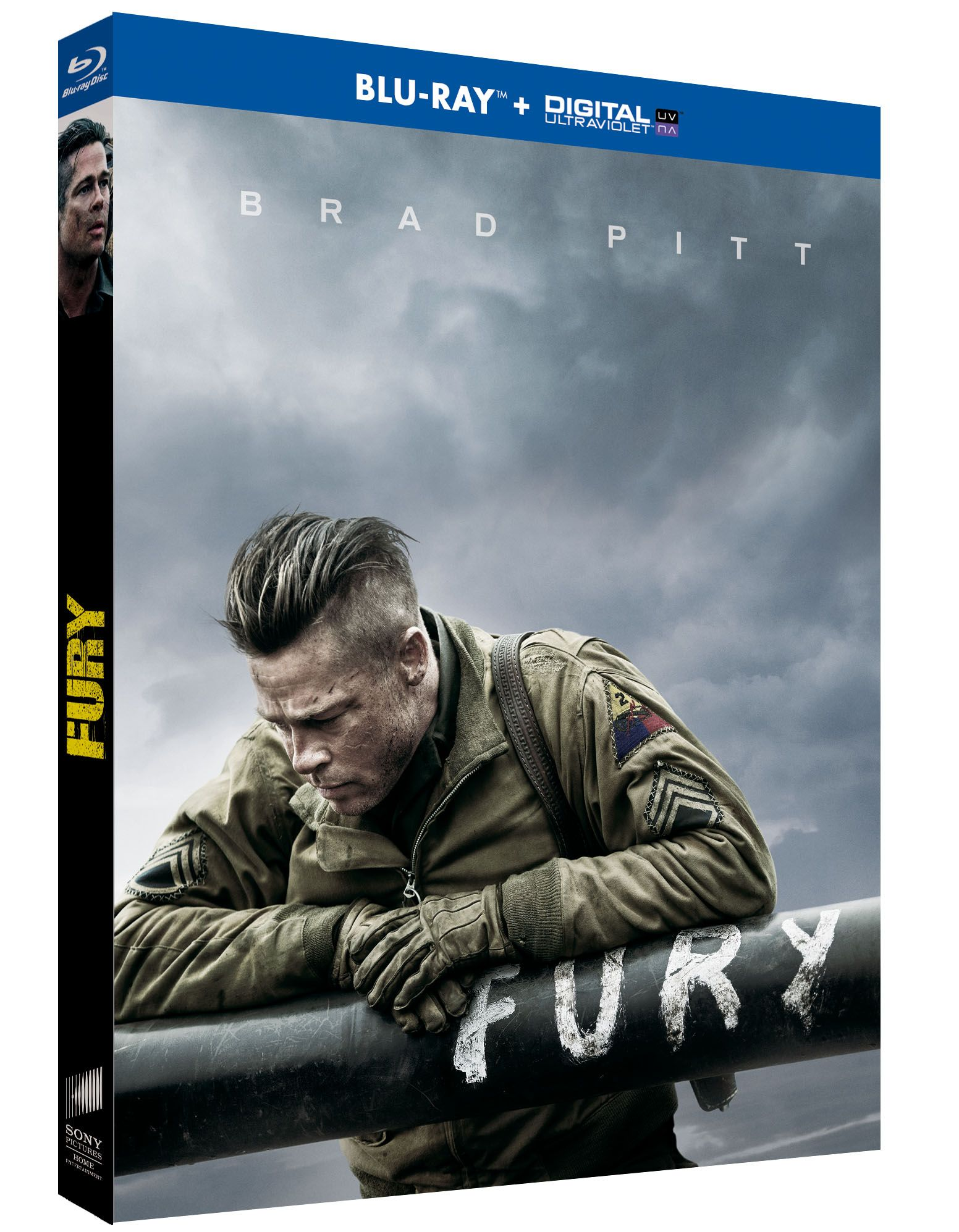 Concours Fury, 3 Bluray à gagner Affiche film, Film